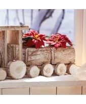 Kunstpflanze Mini-Weihnachtsstern Katalogbild