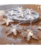 LED Lichterkette Schneeflocke Katalogbild