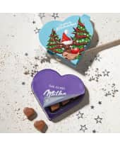 Schokoladen-Herzen, 8 Milka-Pralinen, Nuss-Nougat-Créme Katalogbild