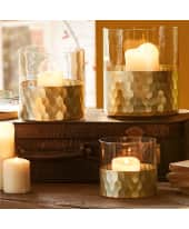Windlicht Golden Shine Katalogbild