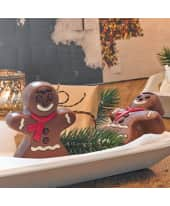 "Schokoladenfigur ""Lebkuchenmann"", 2-tlg. Katalogbild"