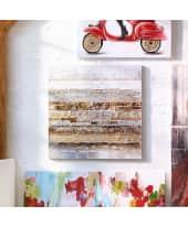Bild Stripe Variation, Handgemalt, ca. 80x 80cm Katalogbild