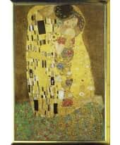 """Bild """"Der Kuß"""", 66x96 cm Vorderansicht"""