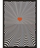 """Bild """"Twist of the heart"""", 105x74 cm Vorderansicht"""
