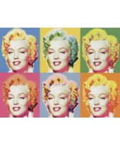 """Bild """"Visions of Marilyn"""", 80x60 cm Vorderansicht"""