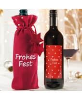 Flaschenbeutel Frohes Fest Katalogbild