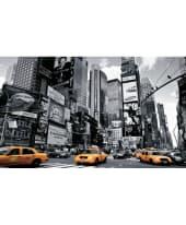 """Bild """"Times Square New York"""", 150x90 cm Vorderansicht"""