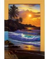 """Bild """"Tropical Splendour"""", 63x93 cm Vorderansicht"""