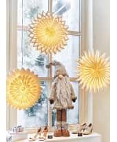 Dekohänger Weihnachts-Lampion, hochwertiger Geschenkkarton, beleuchtbar, Papier Katalogbild