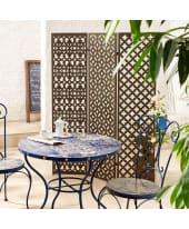 Paravent Ornament, Sichtschutz für den Garten, Metall Katalogbild