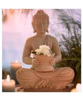 Deko-Figur Natural Buddha Katalogbild