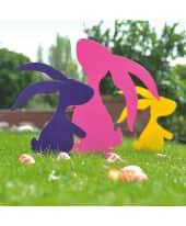 Gartenstecker-Set, 3-tlg. Happy Bunnies Katalogbild
