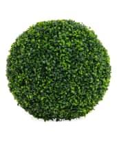 """Kunstpflanze """"Buchsbaumkugel"""" Vorderansicht"""