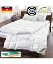 Stepp-Bettdecke, spezielle Körperzonensteppung Katalogbild