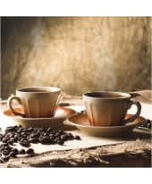 """Bild """"Hot Coffee"""" Vorderansicht"""