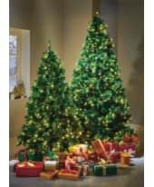 LED-Tannenbaum, täuschend echt, Kunststoff, Metall, LED, in 3 Größen Katalogbild