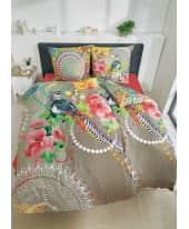 Bettwäsche Paradies, mit Reißverschluss, Baumwolle Satin Katalogbild