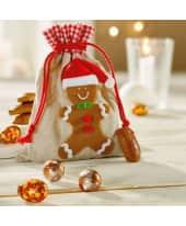 Weihnachtsbeutel mit Füllung Lebkuchenmann Katalogbild