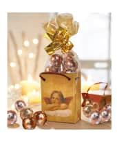 Geschenk-Tüten-Set, 10-tlg. Raffael-Engel, 50g Vollmilch-Schokokugeln Katalogbild