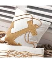 Kissenhülle Anker, Rückseite bedruckt Katalogbild