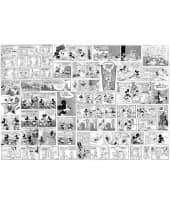 """Fototapete """"Mickey Comic"""", 368x254 cm Vorderansicht"""