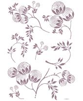 Wandtattoo Bellissima, 7-tlg. Vorderansicht