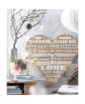 Wandbild, Mottoprint, Shabby Chic, Kiefernholz Katalogbild