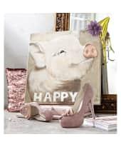 Bild Schweinchen, 50x50 cm, Leinwandprint Katalogbild