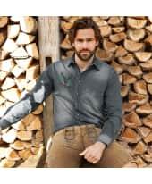 Herren-Jeanshemd Tom, gewaschene Jeansoptik, Brusttasche, Baumwolle Katalogbild