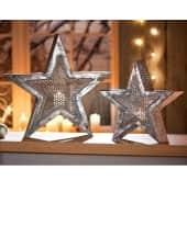 Windlicht Stern Ornament Katalogbild