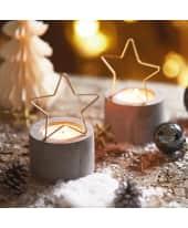 Teelichthalter Metal Star Katalogbild