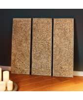 Wandobjekt Metall Rosette Katalogbild