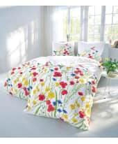 Bettwäsche Frühlingserwachen, mit Reißverschluss, Baumwolle Satin Katalogbild