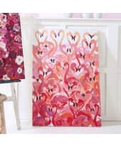 Bild Flamingos, handgemalt, ca. B70 x H100 cm Katalogbild