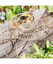 Outdoor-Tisch Liv, Antik-Look, Metall, ca. 73 cm hoch, Durchmesser ca. 70 cm Katalogbild