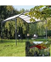 Ersatzdach für Pavillon Curve, Polyester Vorderansicht