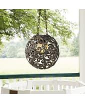 Solarleuchte Sun, Kugel LED, mit Ornamenten, Dämmerungsautomatik, zum Hängen, ca. Ø18 cm Katalogbild