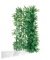 Spar-Set Sichtschutz, 2-Stk. Bambus, grüne Sichtschutzhecke, zuschneidbar, 2er-Set, je ca. B3 x H1 m Vorderansicht