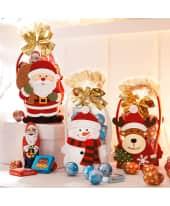 Weihnachts-Filztäschchen, 50g Schokolade Katalogbild