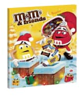 Adventskalender, M&M & Friends Vorderansicht