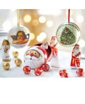Weihnachtskugel mit Füllung Katalogbild
