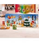 Pringles Adventskalender, 23 kleine Dosen mit je 40g & 1 große Dose mit 190g Inhalt Katalogbild