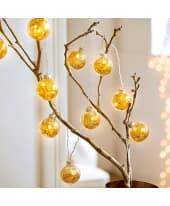 LED Lichterkette Golden Lights, ca. L210 cm Katalogbild