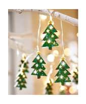 LED-Lichterkette Weihnachtsbaum, modern, Eisen, ca. L175 cm Katalogbild