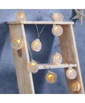 LED-Lichterkette Rehkitz, Natur-Look, Holz, Kunststoff, ca. L175 cm Katalogbild