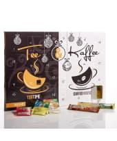 Adventskalender Tee und Kaffee Vorderansicht