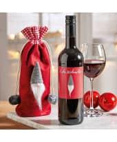 Flaschenbeutel, mit  Rotwein Wichtel, 0,75l Vin de Pays de L´Herault Katalogbild