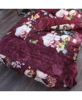 Bettläufer Samt, seidig glänzend, 65% Baumwolle, 35% Viskose, ca. L240 x B60 cm Katalogbild