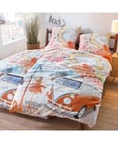 Bettwäsche Aloha, mit Reißverschluss, Baumwolle Katalogbild