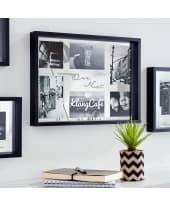 Wandobjekt Spiegel Bilderrrahmen Our Nest, verspiegelte Innenrückseite, modern, MDF, Glas, ca. 42 x 31 x 4 cm Katalogbild